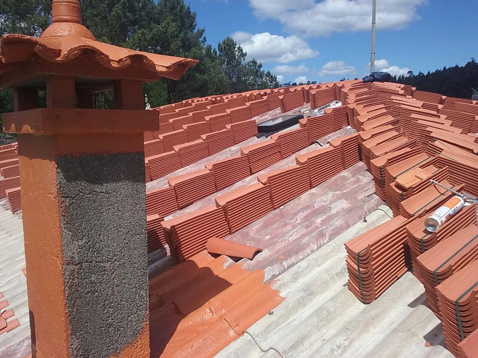 Reformas de tejados, empresa de construcción en Teo